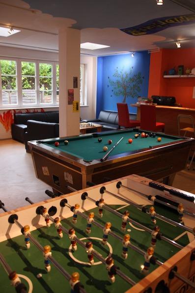 Billiard im Jugendtreff in der Begegnungsstätte Bergstedt