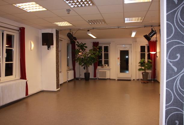 Der Saal der Begegnungsstätte Bergstedt